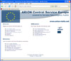 Arion-Service-Homepage Screenshot 2006